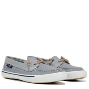 NWT Sperry Gray Lounge Away Boat Shoes